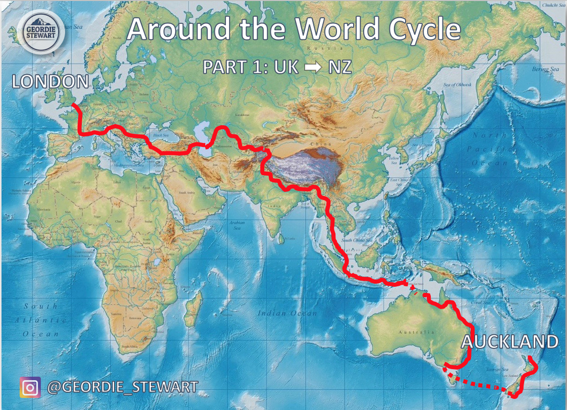 Around The World Cycle