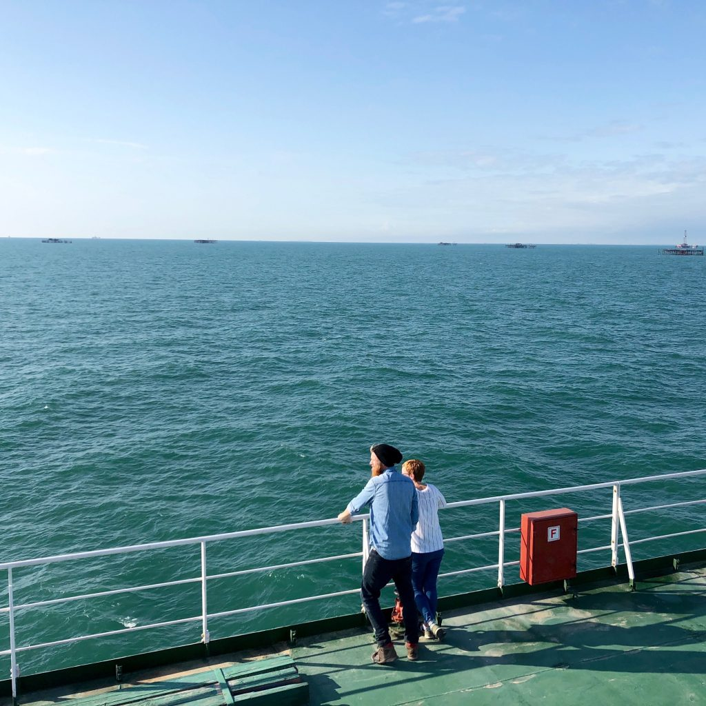Caspian Sea Crossing