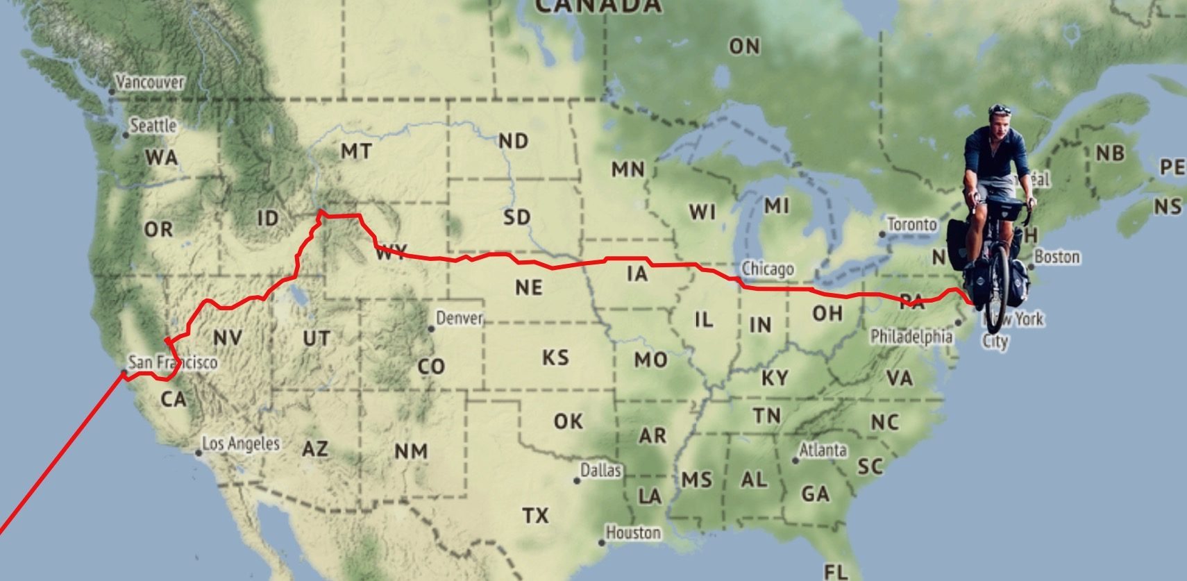 Cycle Across America